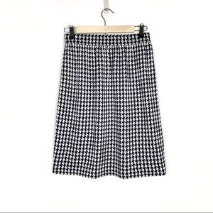 St. John Collection | Knit Houndstooth Skirt